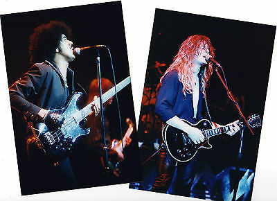 THIN LIZZY in concert 1983! 90 Rare PHOTOS! Final tour with Phil Lynott. not cd