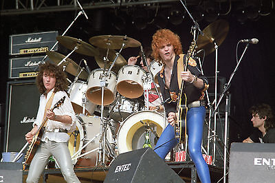 WILD HORSES in concert Reading 1979! 22 Rare PHOTOS! Brian Robertson Thin Lizzy