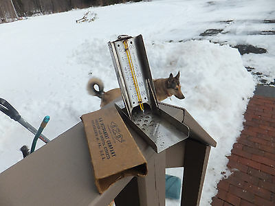 Vintage H-B Instrument Co No. 9760 Hanging or Stand Oven Thermometer W/ Box