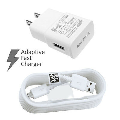 New OEM Samsung Galaxy Note 4 5 Edge S6 S7 Edge Charger Adaptive Fast Charging