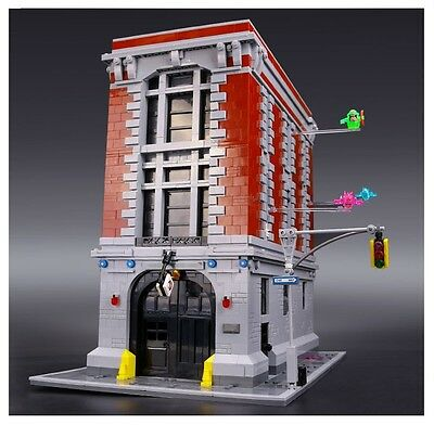 16001 Ghosterbuster HQ Building Blocks Lepin Compatible with Lego 4634Pcs