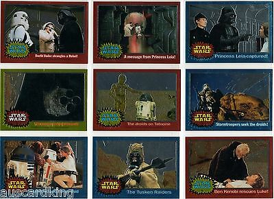 Star Wars - Chrome Archives - Complete Trading Card - Set (90) - TOPPS 1999 - NM