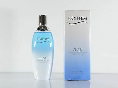 BIOTHERM L`Eau  Eau de Toilette Spray 100 ml NEU OVP