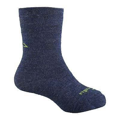 Kathmandu Children Kids Merino Wool Blend Outdoor Hiking Socks in Blue