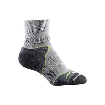 Kathmandu Merino Trail Mens Womens Performance Hiking Running Sock v2 Grey
