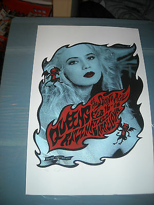 QUEENS OF THE STONE AGE POSTER-Razzmatazz, Barcelona-Signed & Numbered-PERKINS