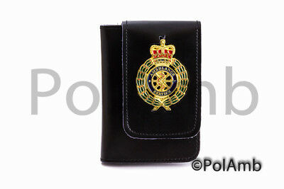 1 x Ambulance Quality ID / Card Leather Holder Wallet First Responder, Paramedic