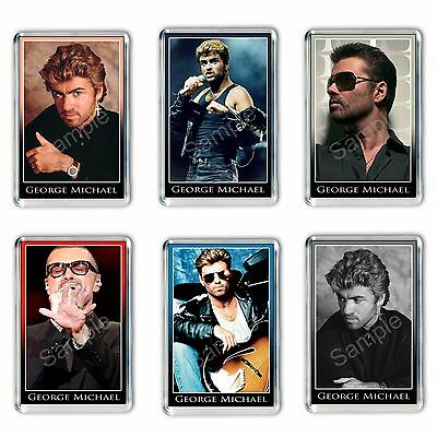 George Michael Fridge Magnets 6 Designs to choose from