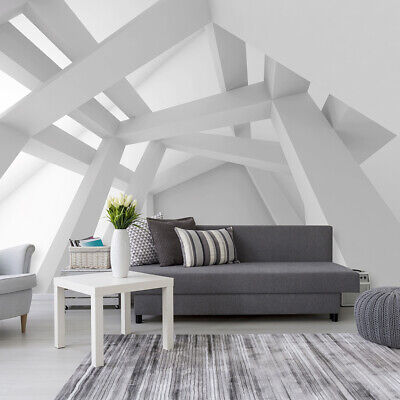 tapete fototapete wandbild grau weiss 3d geometrie kunst kugeln wand 3035 p4 eur 16 90. Black Bedroom Furniture Sets. Home Design Ideas