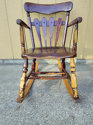 Antique Monterey Windsor Chair/Rocker
