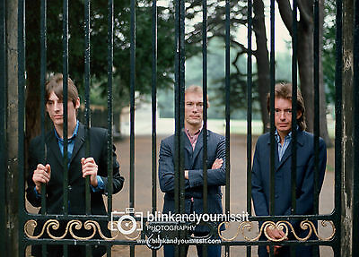 The Jam Paul Weller A3 Colour Photographic print Chiswick House Photo Shoot 1981