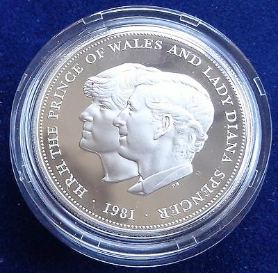 1981 Charles and Diana Royal Wedding 0.925 Silver Proof Crown
