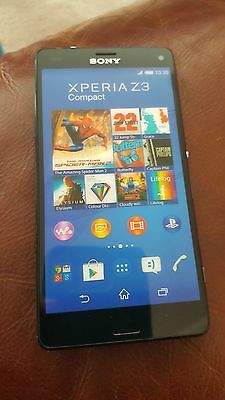 DUMMY SONY XPERIA Z3 COMPACT HANDSET- (Black back)