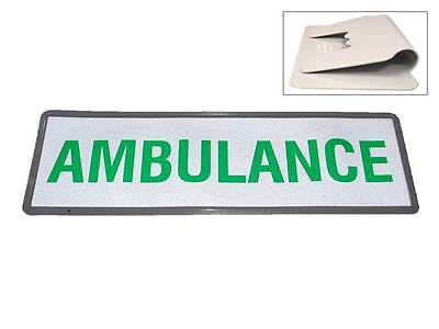 AMBULANCE Reflective Univisor (Sun Visor) for Paramedic Officer 999 EMT Nurse