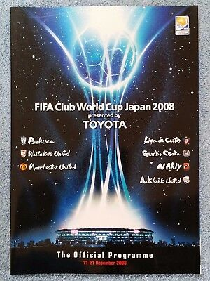2008 - Toyota Club World Cup Tournament Programme - Manchester Utd