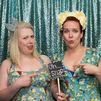 Sequin Backdrop, Photo Booth  8 x 8ft