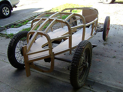 Austin 7 project 1932 rolling chassis racing ash body