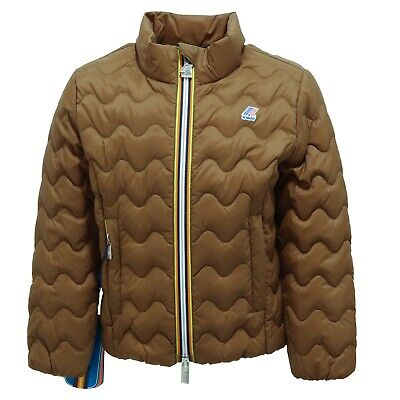 5863R giubbotto bimba K-WAY VIOLETTE LIGHT THERMO  jacket kid