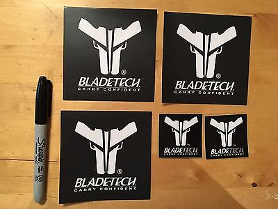 5 Bladetech Gun Militia Hunting Weaponry Tactical Swat Ammo Arms Stickers/Decals