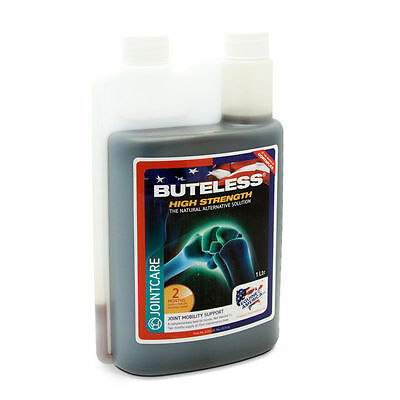 Equine America Buteless High Strength Liquid 1ltr *FREE UK Shipping*