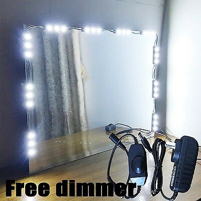 Mirror LED Light for Hollywood Makeup Mirror Vanity Mirror with Lights with D...