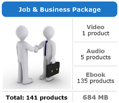 Job and Business Package / 141 Products / Large Collection