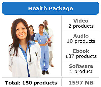 Health Package / 150 Products / Large Collection
