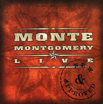 Monte Montgomery - New & Approved [New CD]