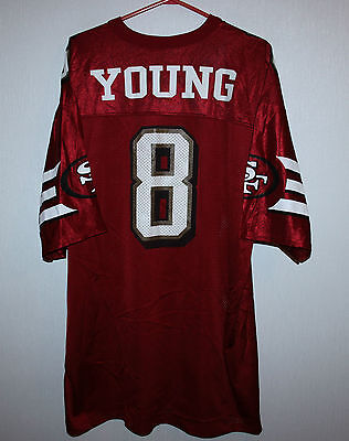 Vintage San Francisco 49ers NFL jersey #9 Young Size XL
