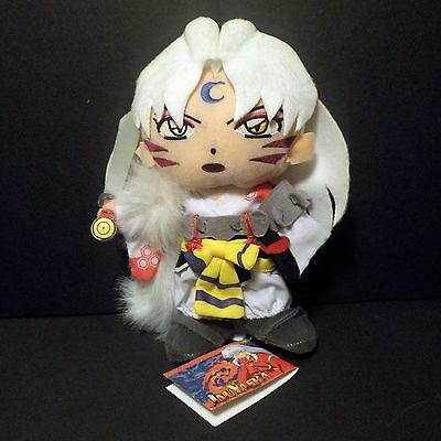 "InuYasha Sesshomaru Manga Plush 8"" Anime Collectibles Sesshoumaru"