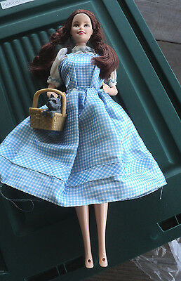 Barbie Mattel Wizard Of Oz Dorothy Doll, Dress, Lights Up,  No Shoes & Toto