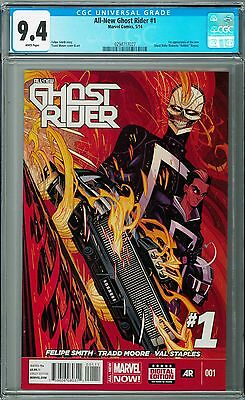 CGC 9.4 - All-New Ghost Rider #1 [May 2014] Marvel Comics, 1st Robbie Reyes