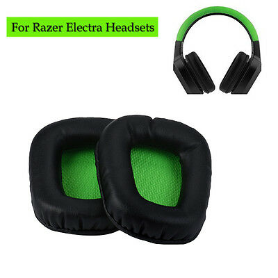 2x Replacement Cushion Ear Pads Mat For Razer Electra Gaming Pc Music Headphones