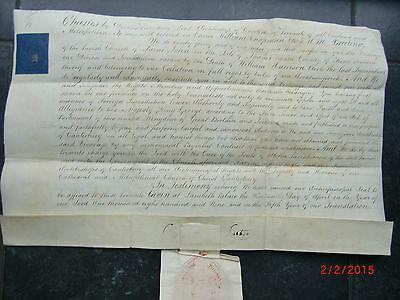 """""""1809"""" From ARCHBISHOP of CANTERBURY the INCUMBENCY of ST.JOHN'S. MARGATE. KENT."""