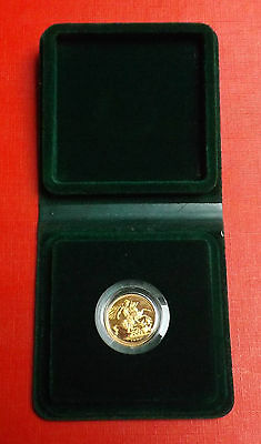 Elizabeth 1980 Proof Sovereign Boxed And Coa