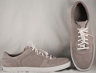 Men's Cole Haan Light Gray Suede Casual Oxford Sneakers US 13 M