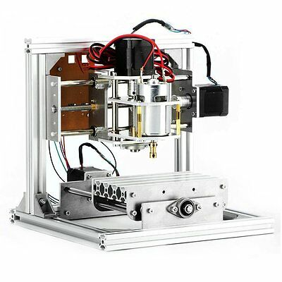 CNC Router Machine, 3 Axis DIY CNC Engraving Machine PCB Milling Machine