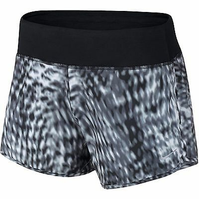"""New Nike Women's Training Shorts/Printed  4""""  Rival/gym/built in pants/gym/run"""