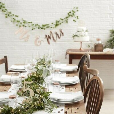 GINGER RAY Beautiful Botanics Wedding and Party Supplies - NEW - FREE SHIPPING