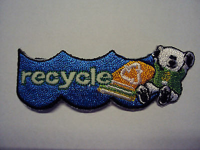 Scout Recycle Patch~Girl Scouts or Boy Scouts