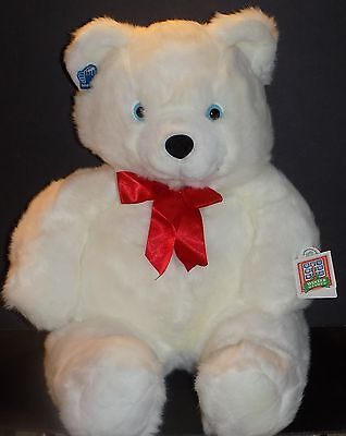 """New! Applause Winter Wishes Christmas Valentine's Day Twinkle 28"""" Plush Bear"""