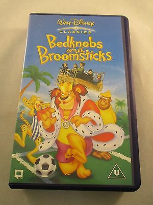 VHS Video ~ Bedknobs and Broomsticks ~ Walt Disney's Classic