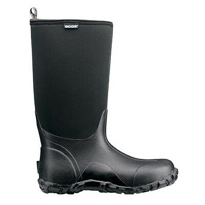 NEW BOGS Classic Ultra High Men's Boots - Black Size 10 Mens