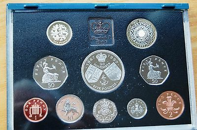 Royal Mint 1997 UK Proof Coin Collection 10 Coin Set  #