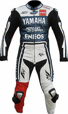 YAMAHA Motorbike Leather Suit Motorcycle Racing Leather Suit Jacket Trouser