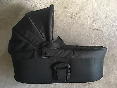 Mamas and Papas Black Carrycot - Fits Sola, Urbo, Zoom, Glide
