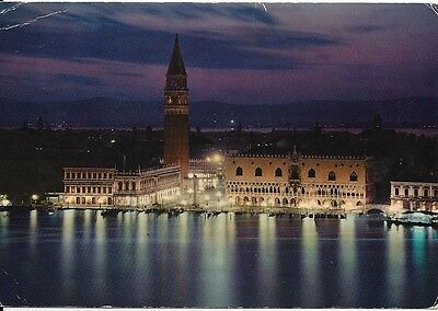 "Vintage collectible 4"" x 5.75"" Venice Venezia Italy 1982 posted"