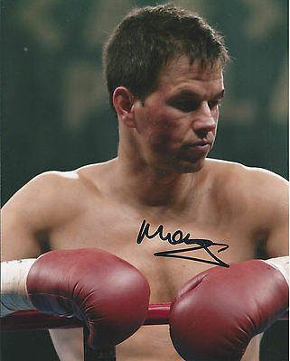 MARK WAHLBERG - Hand Signed 10x8 Photo - Actor - Ted The Fighter Transformers