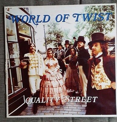 World of Twist - Quality Street - original 1991 UK vinyl LP