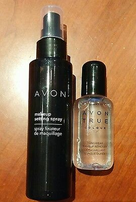 Avon Set make-up perfetto spray fissante e struccante bifasico a lunga durata